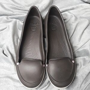 Incredibly Comfy Dark Brown Crocs Slip On Shoe